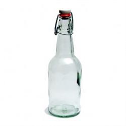 Bottles 500 ml Clear Flipper EZ Cap